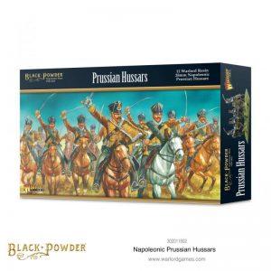 Warlord Games Black Powder  Prussians (Napoleonic) Prussian Hussars - 302011802 - 5060572505841