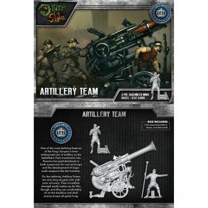 Wyrd The Other Side  King's Empire Artillery Team - WYR40113 - 812152030169