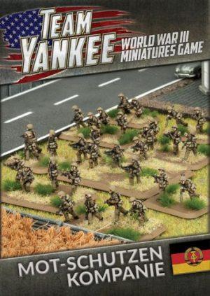 Battlefront Team Yankee  Warsaw Pact East German Mot-Schutzen Kompanie (73 figures) - TEBX02 - 9420020227019