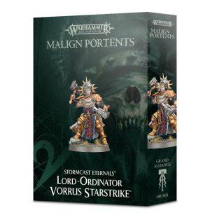 Games Workshop (Direct) Age of Sigmar  Stormcast Eternals Lord-Ordinator Vorrus Starstrike - 99120218031 - 5011921098569