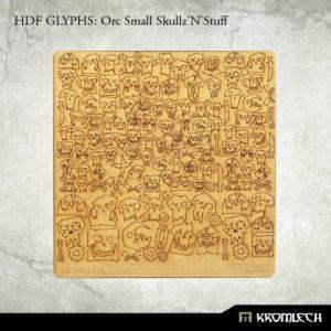 Kromlech   Modelling Extras HDF Glyphs: Orc Small Skullz'N'Stuff - KRMA044 - 5902216115071