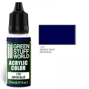 Green Stuff World   Acrylic Paints Acrylic Color ABYSS BLUE - 8436574501506ES - 8436574501506