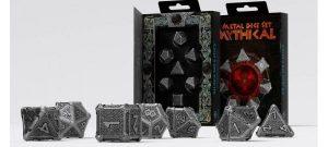 Q-Workshop   Q-Workshop Dice Metal Mythical Dice Set (7) - SMMY35 - 5907699493258