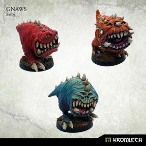 Kromlech   Orc Model Kits Gnaws Set 4 (3) - KRM141 - 5902216117075