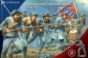 Perry Miniatures   Perry Miniatures American Civil War Confederate Infantry 1861-65 - ACW80 - ACW80