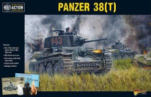 Warlord Games Bolt Action  Germany (BA) Panzer 38(t) - 402012031 - 5060393709138