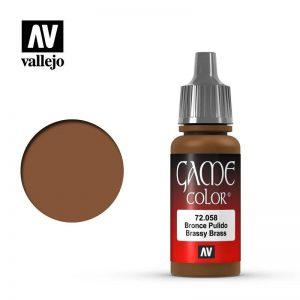 Vallejo   Game Colour Game Color: Brassy Brass - VAL72058 - 8429551720588