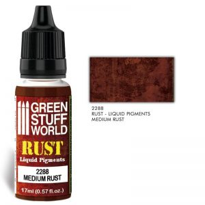 Green Stuff World   Liquid Pigments Liquid Pigments MEDIUM RUST - 8436574506471ES - 8436574506471