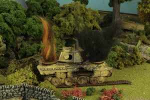 Warlord Games Bolt Action  Bolt Action Extras Tank Damage Markers - WG-DAM-01 - 5060393701057