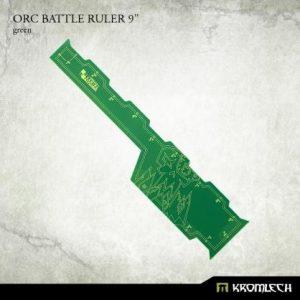 Kromlech   Tapes & Measuring Sticks Orc Battle Ruler 9in [green] (1) - KRGA064 - 5902216116610
