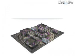 Corvus Belli Infinity  Infinity Essentials Dawn-02 Aplekton Scenery Pack - 285060 - 2850600000003