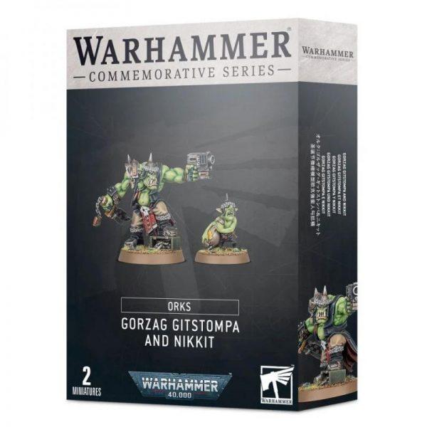 Games Workshop (Direct) Warhammer 40,000  Orks Gorzag Gitstompa and Nikkit - 99120103080 - 5011921138890