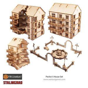 Warlord Games   World War Scenics Stalingrad Pavlovs House - TT_Stalin04 -