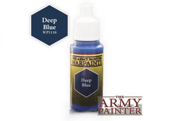 The Army Painter   Warpaint Warpaint - Deep Blue - APWP1116 - 2561116111113