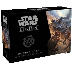 Fantasy Flight Games Star Wars: Legion  Star Wars Legion Extras Star Wars Legion: Downed AT-ST Battlefield Expansion - FFGSWL30 - 841333106652