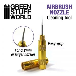Green Stuff World   Airbrushes & Accessories Airbrush Nozzle Cleaner - 8436574509106ES - 8436574509106