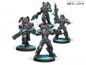 Corvus Belli Infinity  Combined Army Rodok, Armed Imposition Detachment (4) - 280673-0558 - 2806730005586