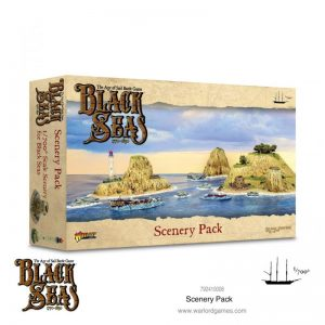Warlord Games Black Seas  Black Seas Black Seas: Scenery Pack - 792410008 - 5060572505391