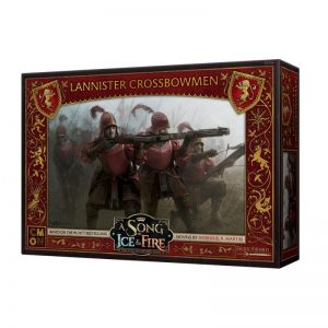Cool Mini or Not A Song of Ice and Fire  House Lannister A Song of Ice and Fire: Lannister Crossbowmen - CMNSIF206 - 889696007797