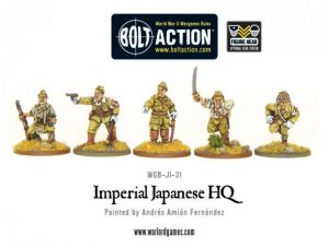 Warlord Games (Direct) Bolt Action  Japan (BA) Imperial Japanese HQ - WGB-JI-31 - 5060200848784