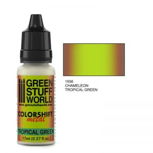 Green Stuff World   Chameleon Paints Chameleon TROPICAL GREEN - 8436554369553ES - 8436554369553