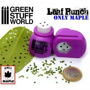 Green Stuff World   Stamps & Punches Miniature Leaf Punch MEDIUM PURPLE - 8436554364169ES - 8436554364169