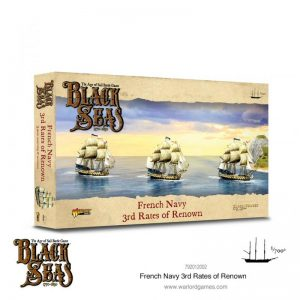 Warlord Games Black Seas  Black Seas Black Seas: French Navy 3rd Rates of Renown - 792012002 - 5060572505810