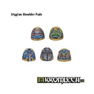 Kromlech   Heretic Legionary Conversion Parts Stygian Shoulder Pads (10) - KRCB036 - 5902216110342