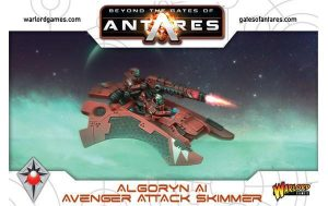Warlord Games Beyond the Gates of Antares  SALE! Algoryn Avenger Attack Skimmer - 502411002 - 5060393704614