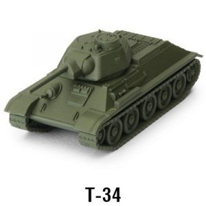 Gale Force Nine World of Tanks: Miniature Game  SALE! World of Tanks Expansion - Soviet T-34 - WOT08 - 9781947494244