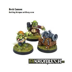 Kromlech   Orc Model Kits Goblin Pirates Deck Cannon - KRM066 - 5902216112254
