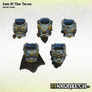 Kromlech   Legionary Conversion Parts Sons of Thor Torsos (5) - KRCB149 - 5902216113350
