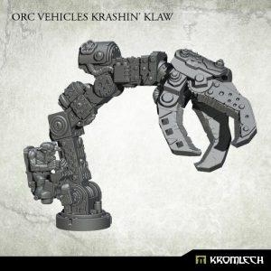 Kromlech   Orc Conversion Parts Orc Vehicles Krushin' Klaw (1) - KRVB060 - 5902216117464