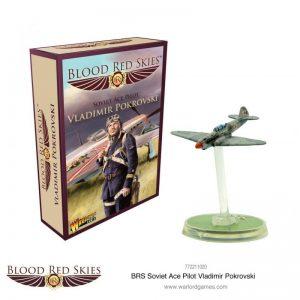 Warlord Games Blood Red Skies  Blood Red Skies Blood Red Skies: Yakolev Yak-1b Ace: Vladimir Pokrovsky - 772211020 - 5060572503236