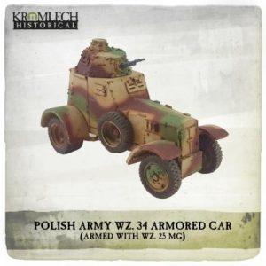 Kromlech   Kromlech Historical Polish Army wz. 34 Armored Car - KHWW2017 - 5902216118133