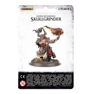 Games Workshop (Direct) Age of Sigmar  Blades of Khorne Khorne Bloodbound Skullgrinder - 99070201011 - 5011921063888