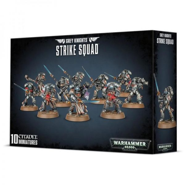 Games Workshop Warhammer 40,000  Grey Knights Grey Knights Strike Squad (2021) - 99120107018 - 5011921153763
