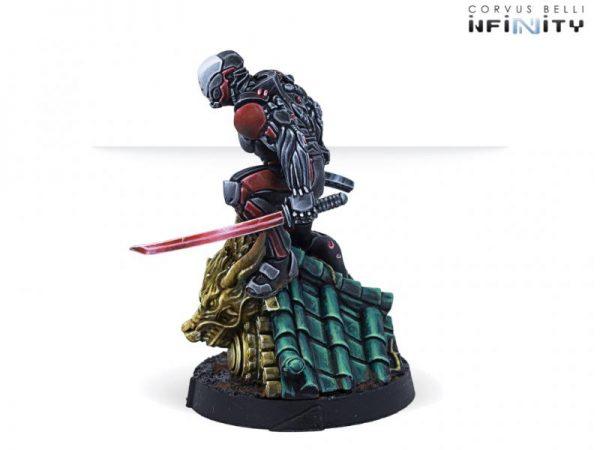 Corvus Belli Infinity  Non-Aligned Armies - NA2 Ninjas (Submachine Gun, Tactical Bow) - 280746-0827 - 2807460008274