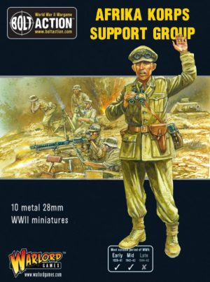 Warlord Games Bolt Action  Germany (BA) Afrika Korps Support Group - 402212005 - 5060572502307