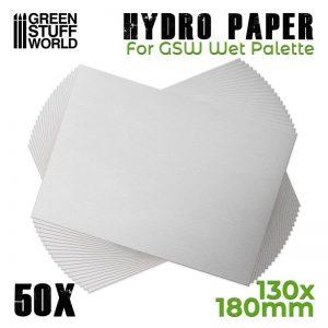 Green Stuff World   Paint Palettes Hydro Paper x50 - 8436574506846ES - 8436574506846