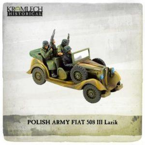 Kromlech   Vehicles & Vehicle Parts Polish Army FIAT 508 III Lazik - KHWW2019 - 5902216119017