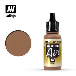 Vallejo   Model Air Model Air: Sand Brown - VAL034 - 8429551710343