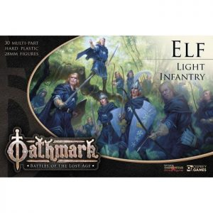North Star Oathmark  Oathmark Oathmark Elf Light Infantry - OAKP302 - 9781472897534