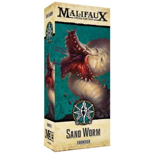 Wyrd Malifaux  The Explorer's Society Explorer's Society Sand Worm - WYR23805 - 812152032989