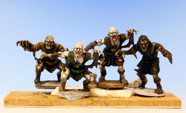 Mantic Kings of War  Undead Undead Ghoul Regiment - MGKWU26-1 - 5060208862737