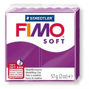 Green Stuff World   Modelling Putty & Green Stuff Fimo Soft 57gr - Purple Violet - 4006608809737ES - 4006608809737