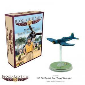 Warlord Games Blood Red Skies  Blood Red Skies Blood Red Skies: Corsair Ace - 'Pappy' Boyington - 772211007 - 5060572502932