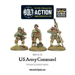 Warlord Games Bolt Action  United States of America (BA) US Army Command - WGB-AI-29 - 5060200844823