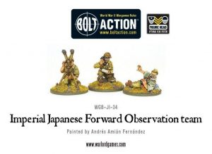 Warlord Games Bolt Action  Japan (BA) Imperial Japanese FOO team - WGB-JI-34 - 5060200845486