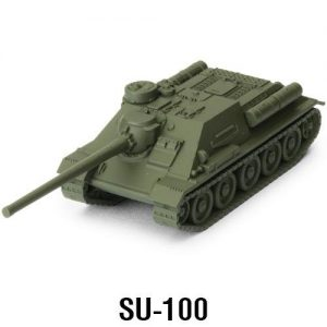 Gale Force Nine World of Tanks: Miniature Game  SALE! World of Tanks Expansion - Soviet SU-100 - WOT04 - 9781945625886
